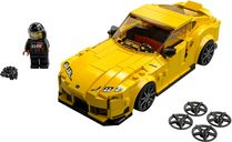LEGO® Speed Champions Toyota GR Supra components