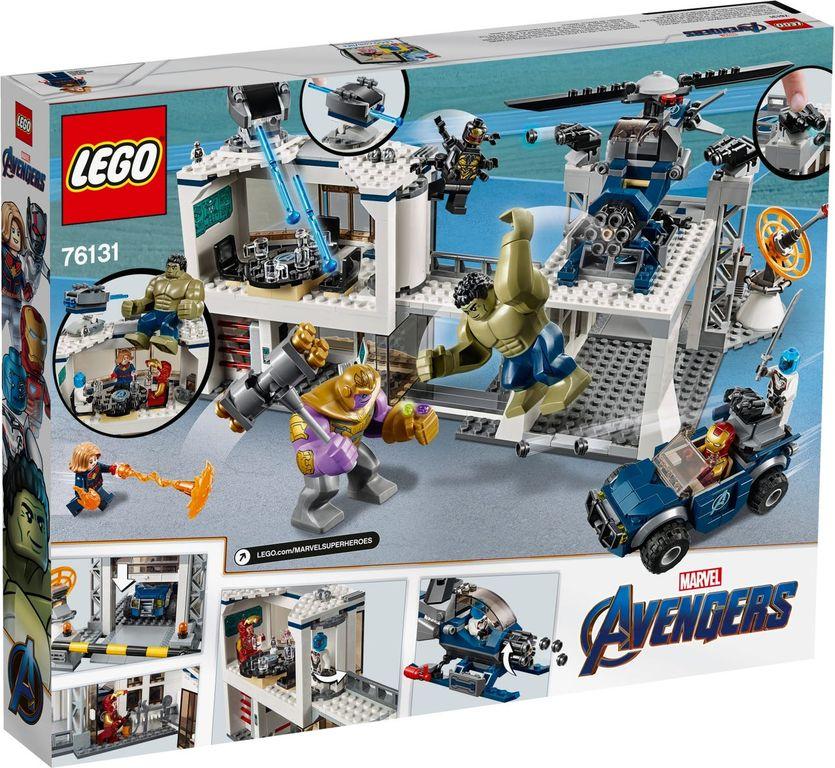 LEGO® Marvel Avengers Compound Battle back of the box