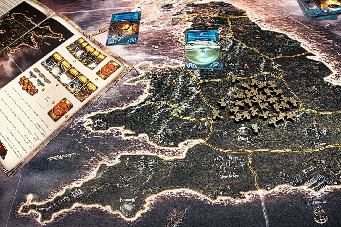 War of the Worlds: The New Wave components