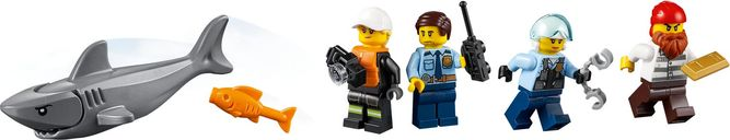 LEGO® City Seaside Police and Fire Mission minifigures