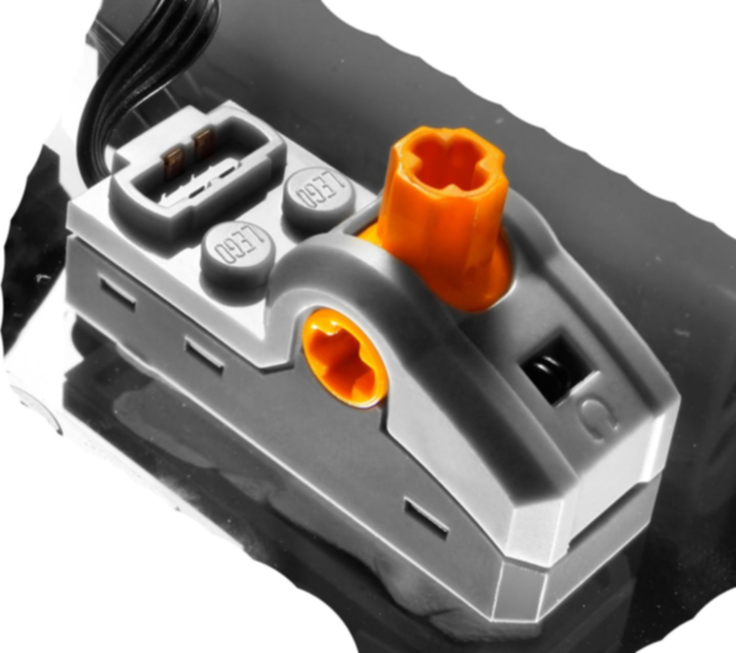 LEGO® Power Functions Motor Set components