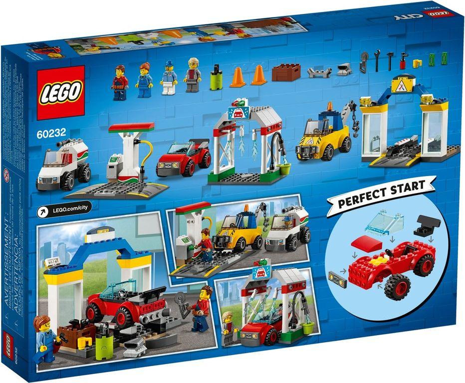 LEGO® City Garage Center back of the box