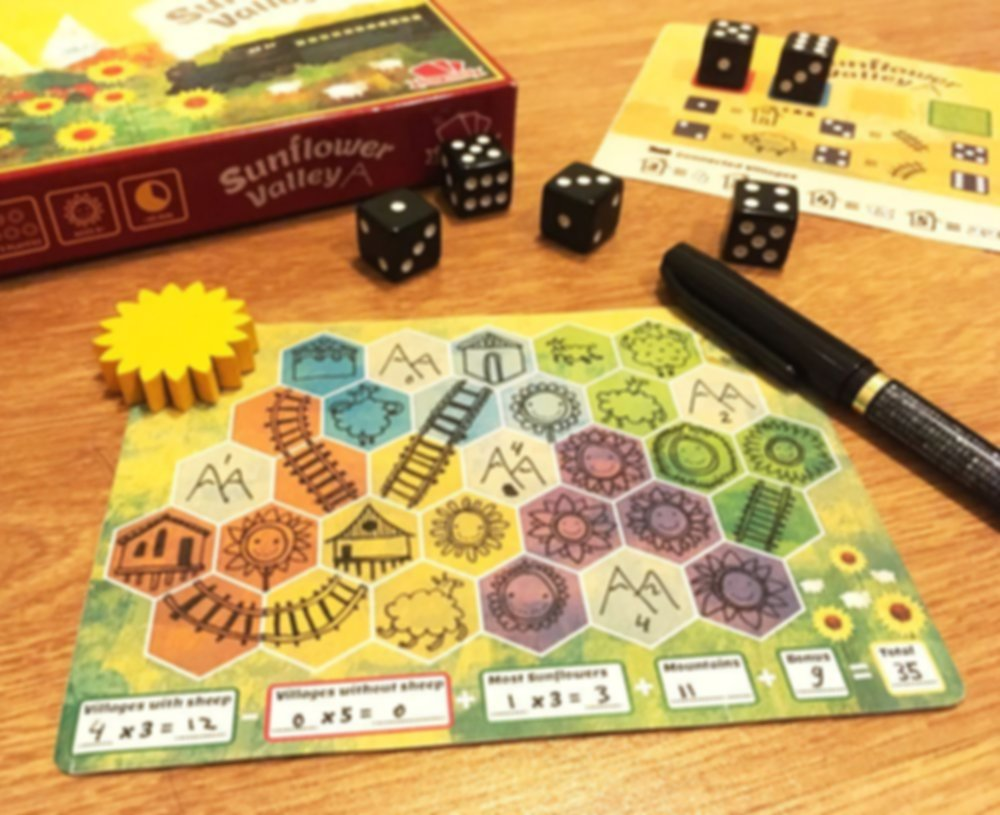 Sunflower Valley components