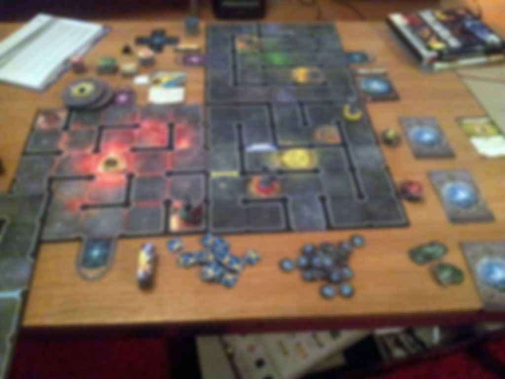 Wiz-War (eighth edition) gameplay