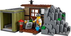 LEGO® City Crooks Island interior