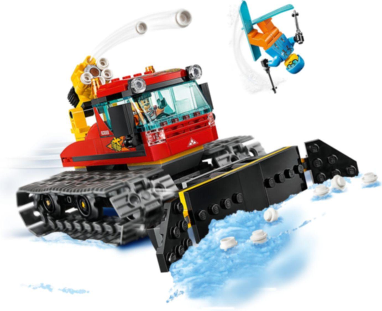 Snow Groomer gameplay