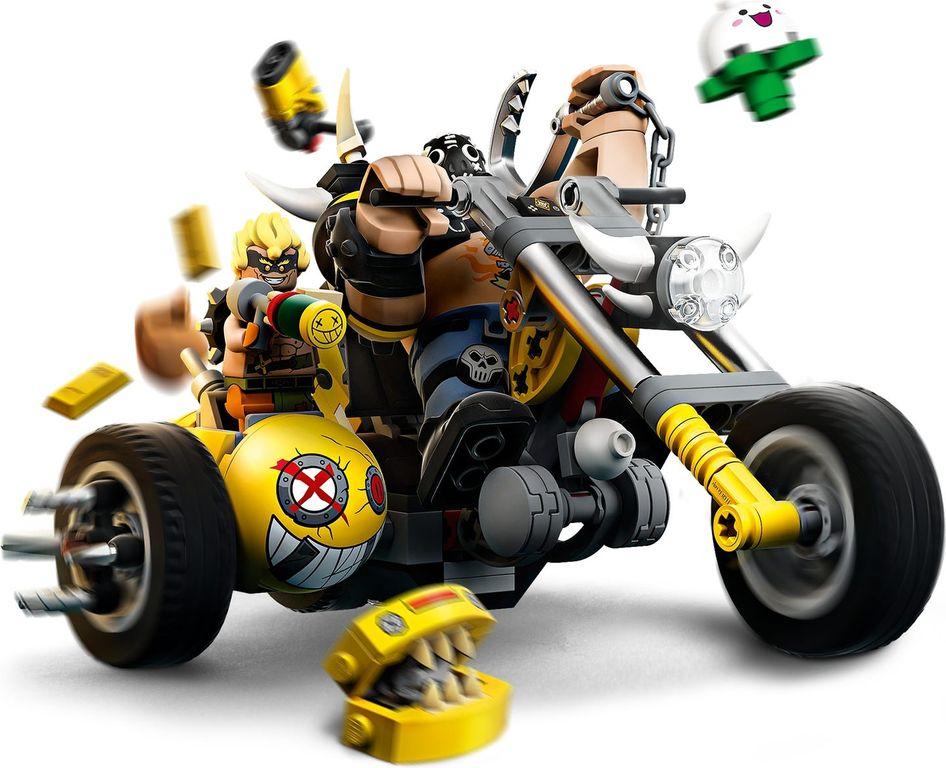 LEGO® Overwatch Junkrat & Roadhog gameplay