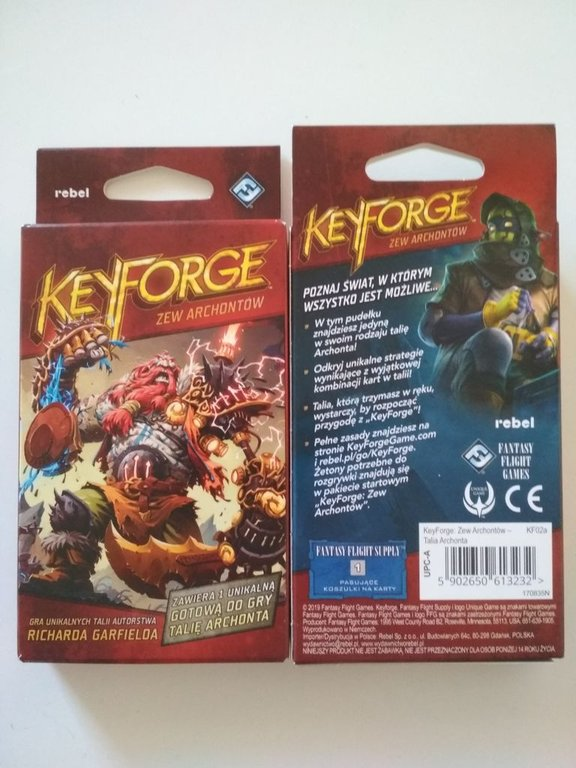 KeyForge: Call of the Archons - Archon Deck box