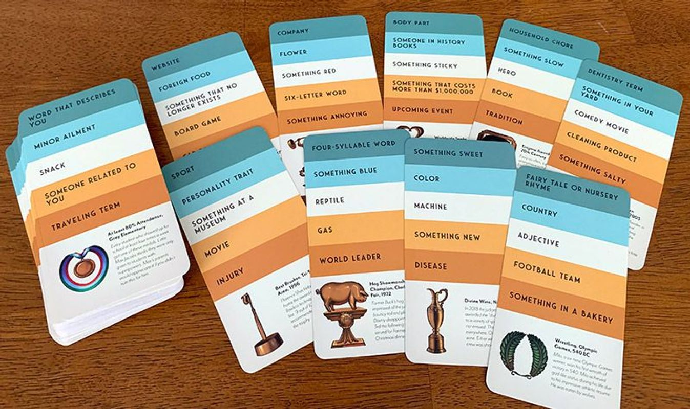 Trophies cards
