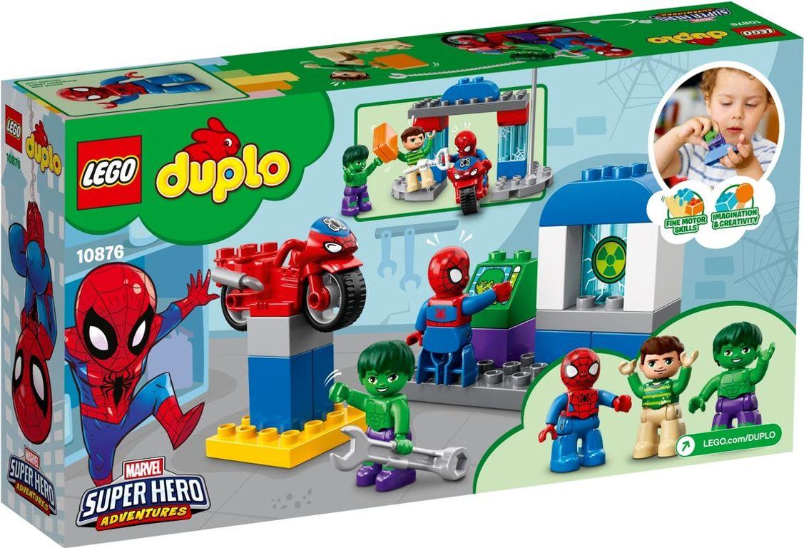 LEGO® DUPLO® Spider-Man & Hulk Adventures back of the box