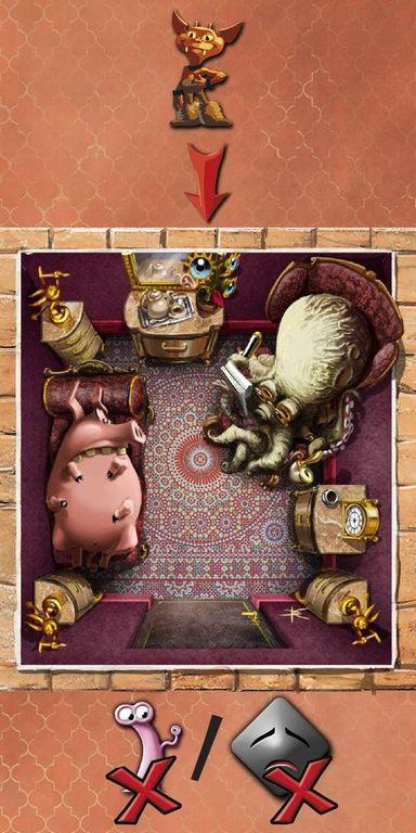 Dungeon Petz: Dark Alleys components