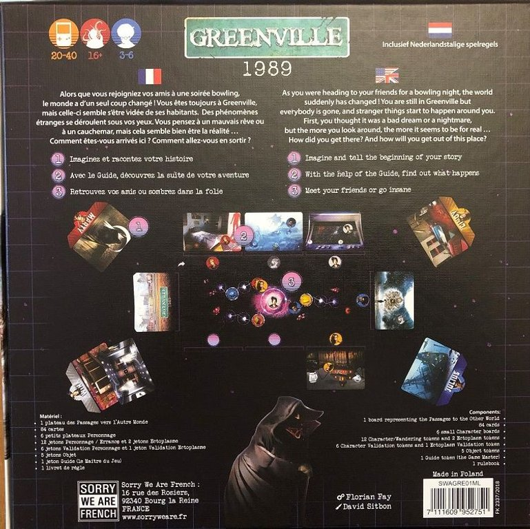 Greenville 1989 back of the box
