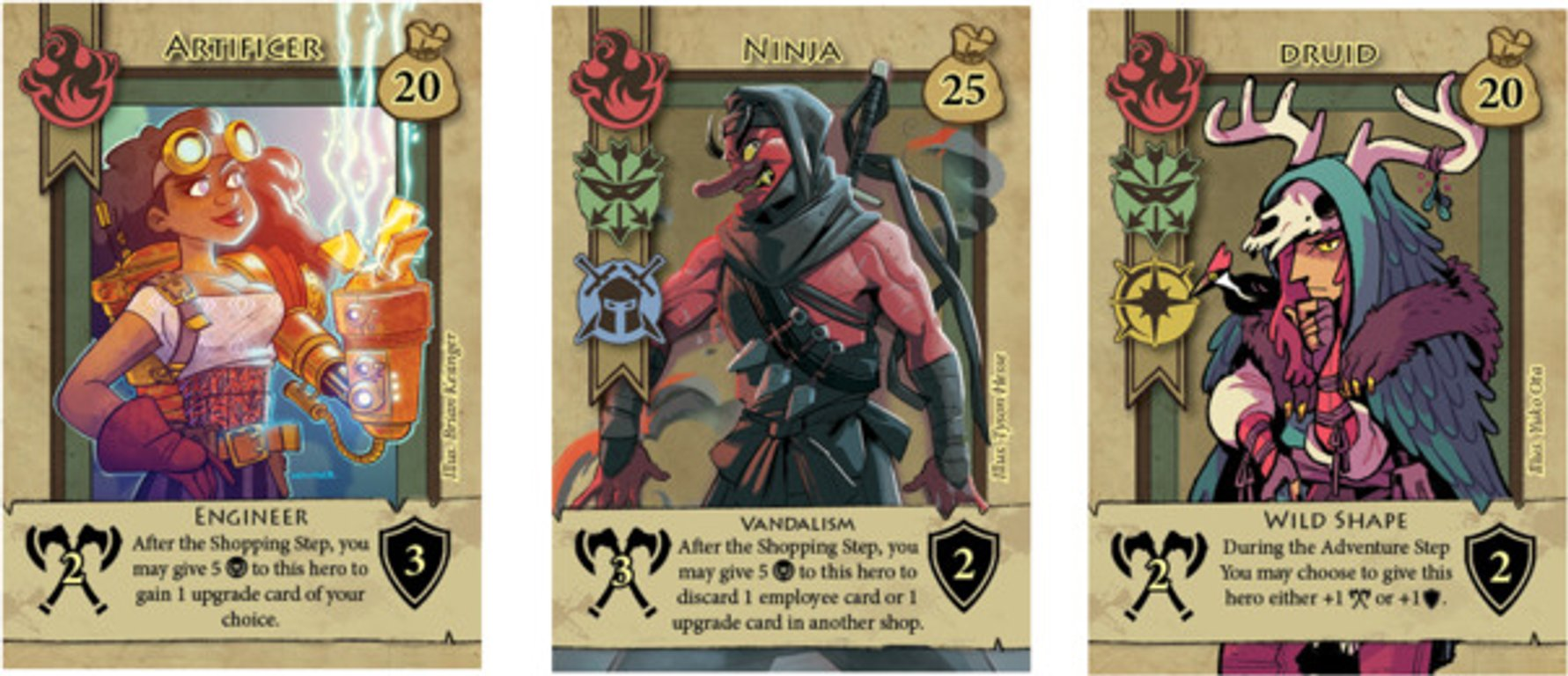 Bargain Quest: Chaotic Goods cards