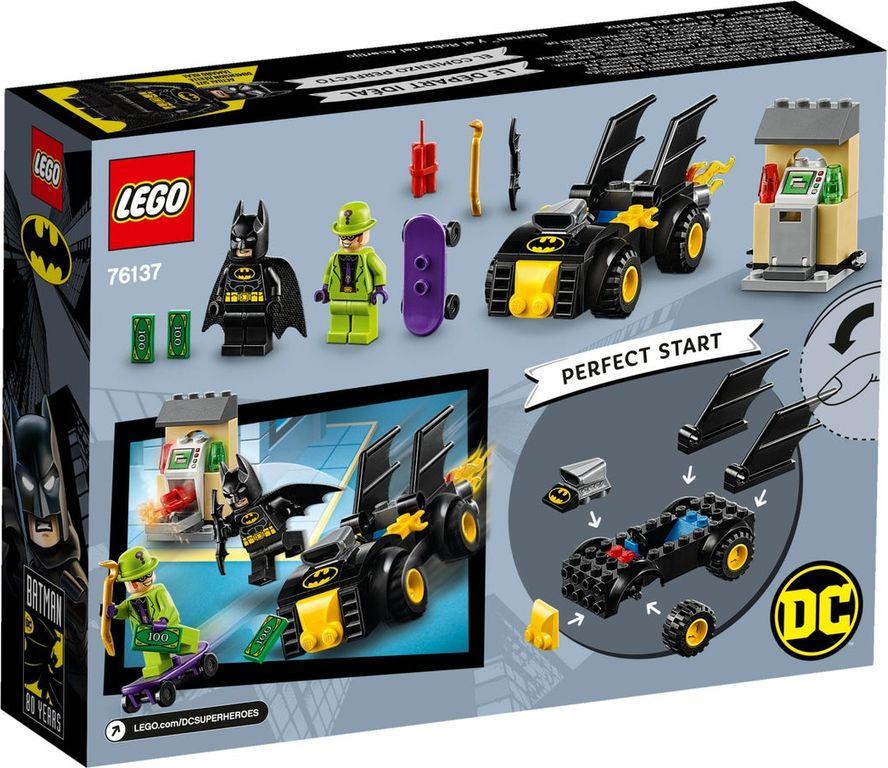 LEGO® DC Superheroes Batman™ vs. The Riddler™ Robbery back of the box