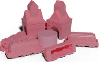 Ticket to Ride: Play Pink components