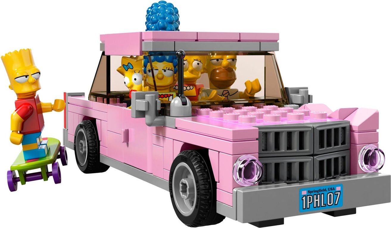 LEGO® The Simpsons The Simpsons™ House minifigures