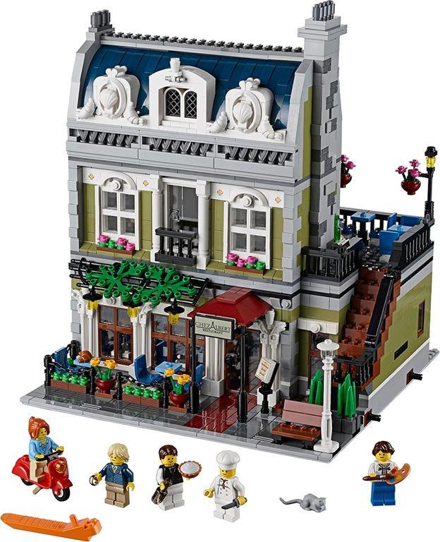 LEGO® Creator Expert Parisian Restaurant components