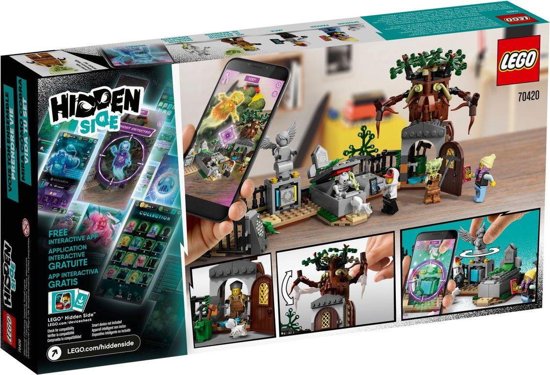 LEGO® Hidden Side Graveyard Mystery back of the box