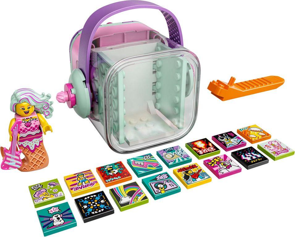 LEGO® VIDIYO™ Candy Mermaid BeatBox components