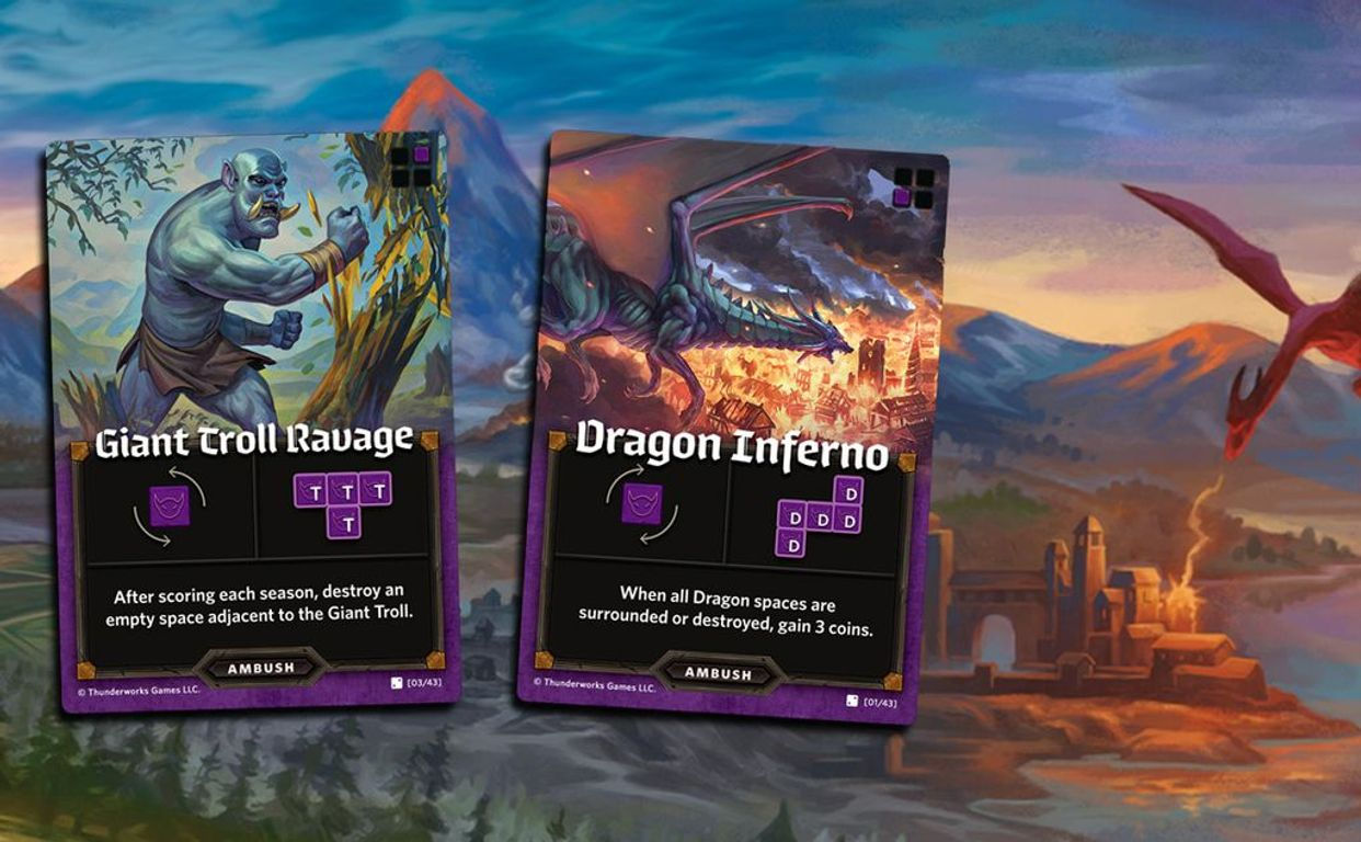 Cartographers Heroes cards