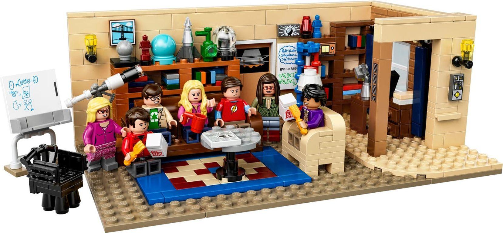 The Big Bang Theory components