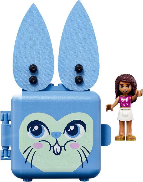 Andrea's Bunny Cube components
