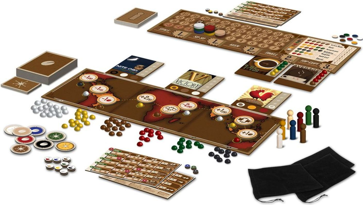 VivaJava: The Coffee Game components
