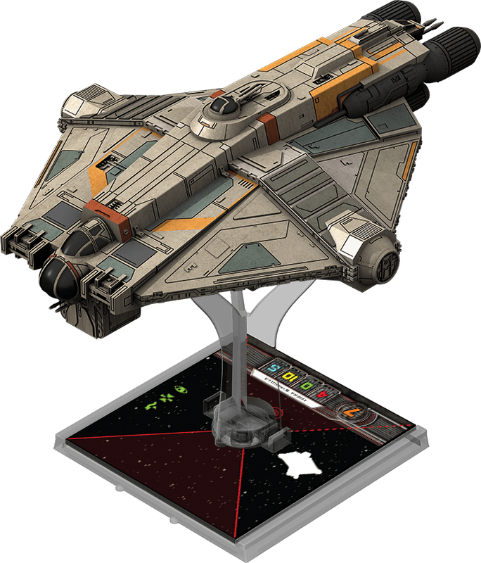 Star Wars: X-Wing Miniatures Game - Ghost Expansion Pack miniature