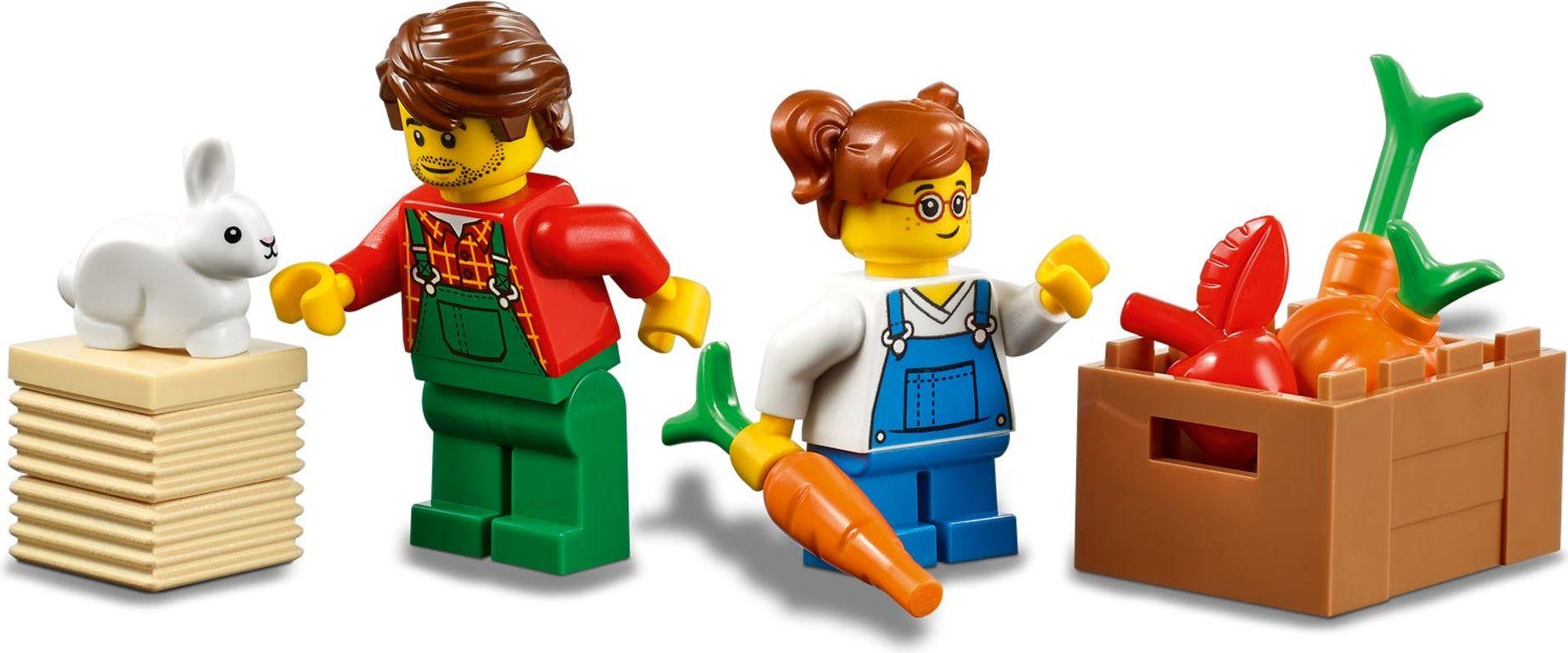 LEGO® City Tractor minifigures