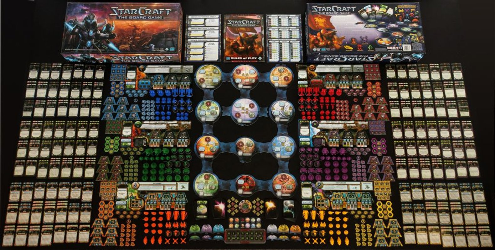 StarCraft: The Board Game components