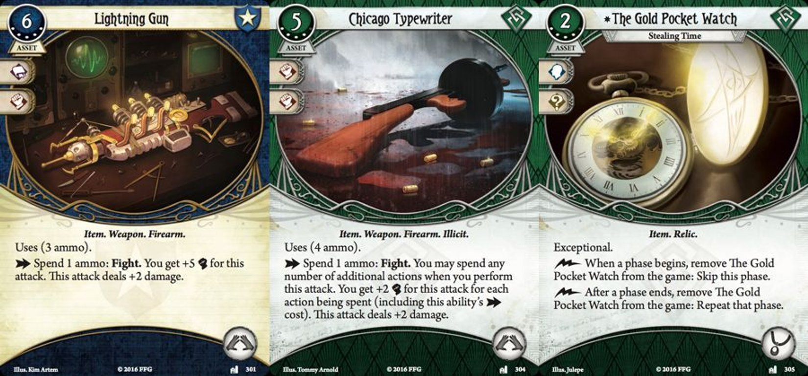 Arkham Horror: The Card Game - Lost in Time and Space cards