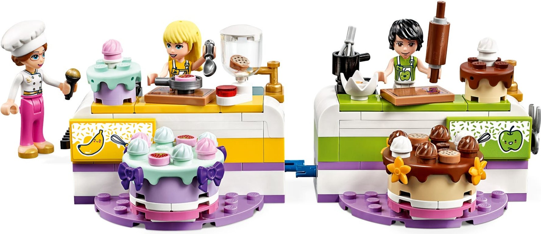 LEGO® Friends Baking Competition components