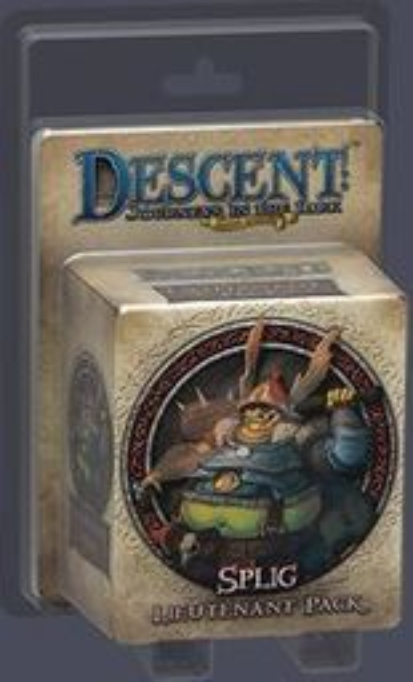Descent: Journeys in the Dark (Second Edition) - Splig Lieutenant Pack