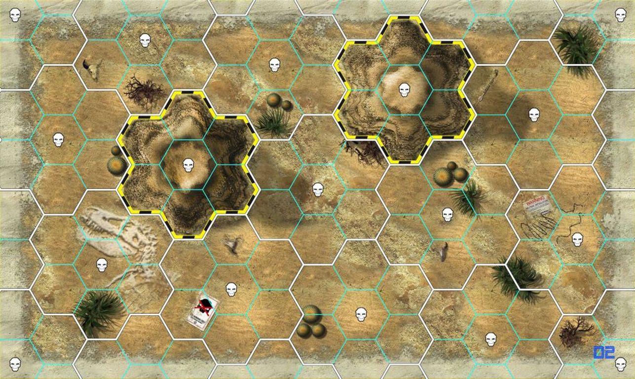 Galaxy Defenders game board