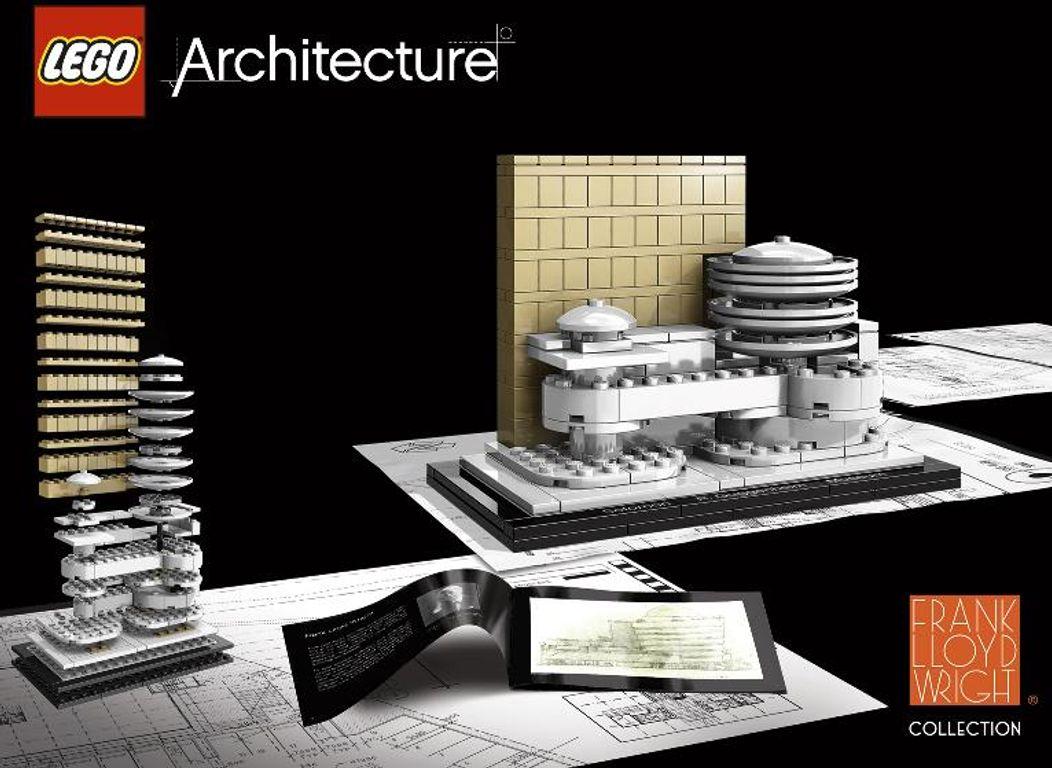 LEGO® Architecture Solomon R. Guggenheim Museum back of the box