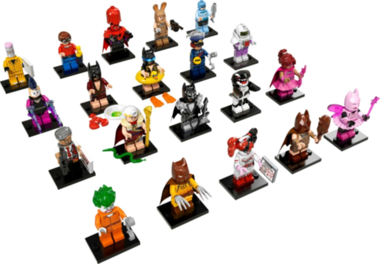 LEGO® Minifigures THE LEGO® BATMAN MOVIE minifigures