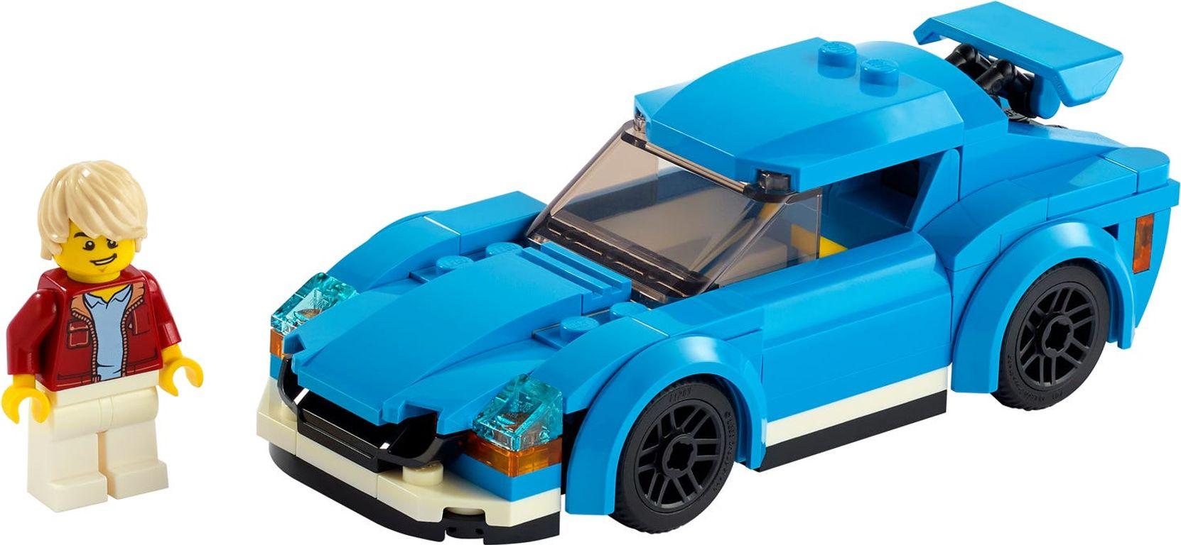 LEGO® City Sports Car components