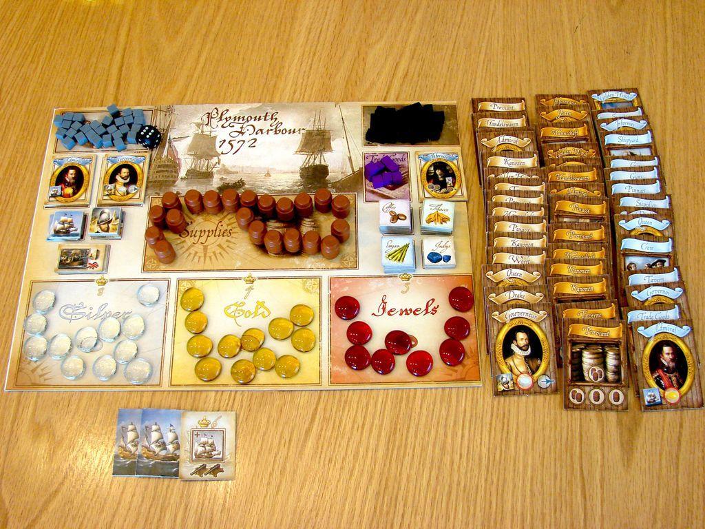Francis Drake components