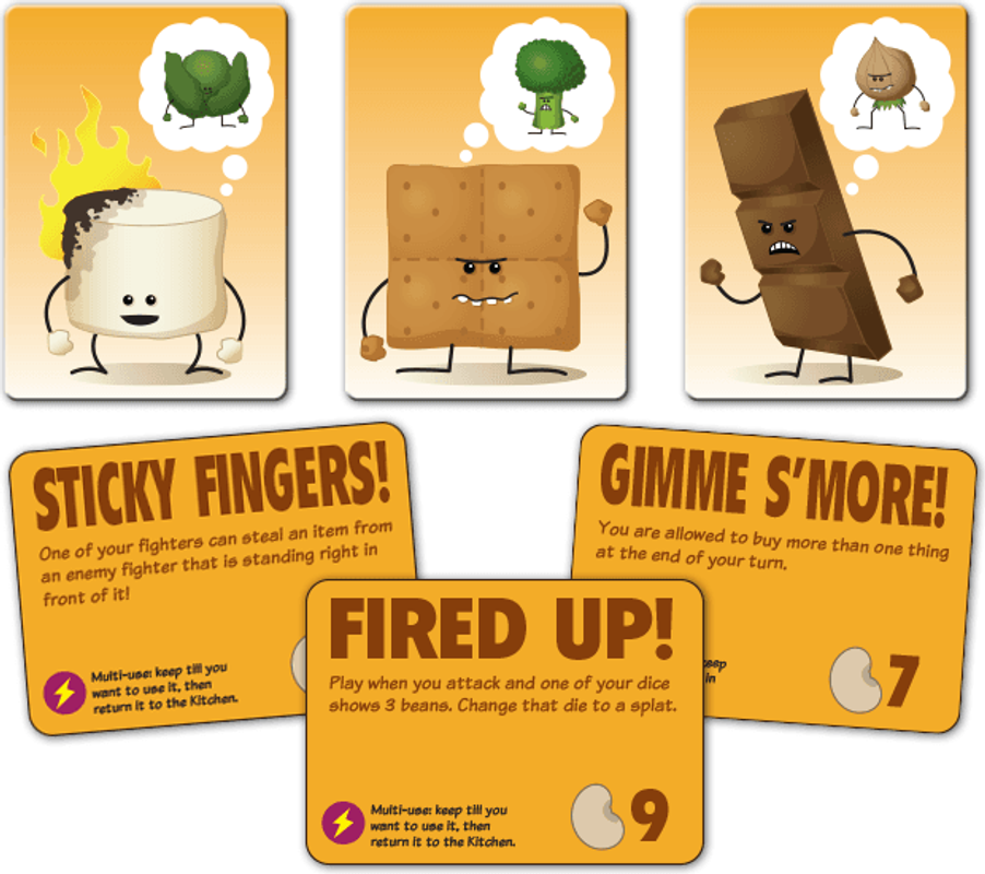 Foodfighters cards