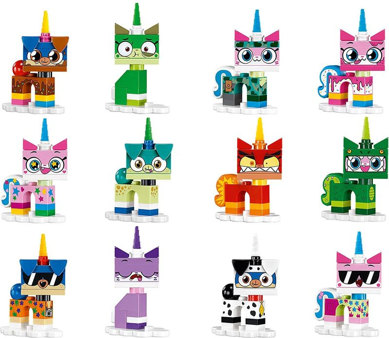 Unikitty™! Collectibles Series 1 components