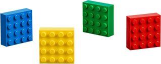 4x4 Brick Magnets Classic components