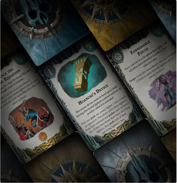 Warhammer Underworlds: Direchasm – The Starblood Stalkers cards