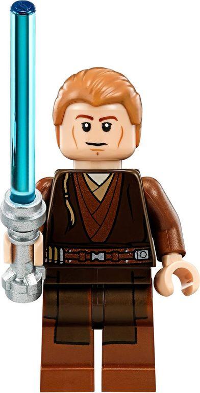 LEGO® Star Wars Anakin's Custom Jedi Starfighter minifigures
