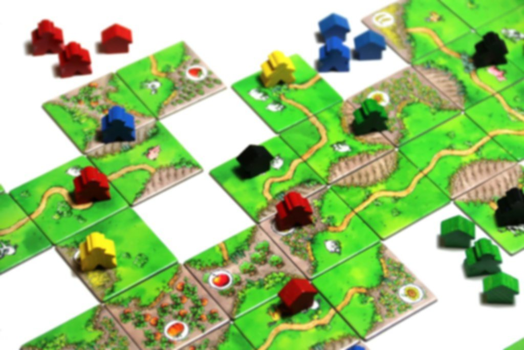 Carcassonne: Over Hill and Dale gameplay