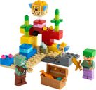 LEGO® Minecraft The Coral Reef components