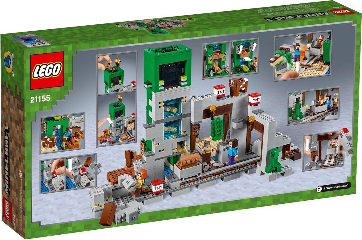 LEGO® Minecraft The Creeper™ Mine back of the box