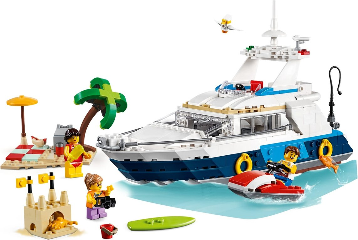 LEGO® Creator Cruising Adventures gameplay