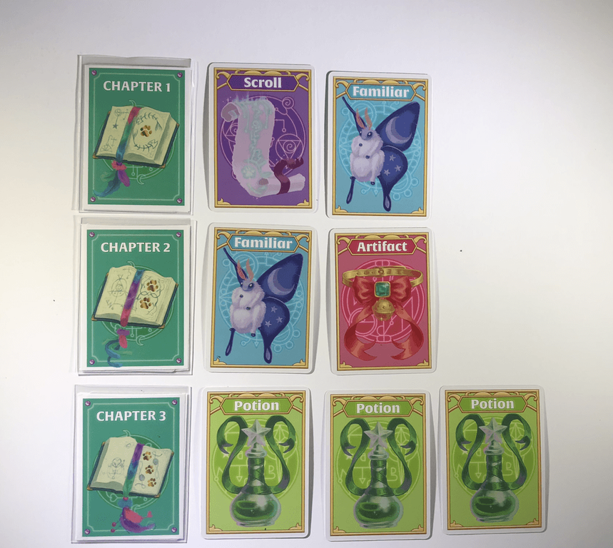 Wizard Kittens cards