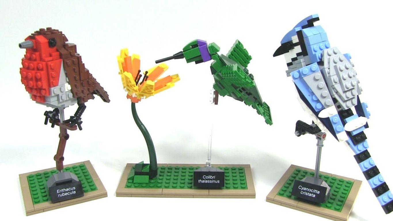 LEGO® Ideas Birds components