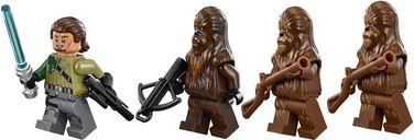 Wookiee Gunship minifigures